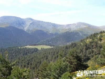 Ruta senderismo Peñalara - Parque Natural de Peñalara - Valle de El Paular; verano viajes senderis